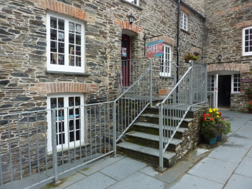 Boho art and crafts Boscastle Cornwall